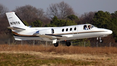 N70TS - Cessna 500 Citation - Private