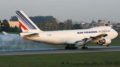 F-GIUE - Boeing 747-428ERF - Air France Cargo