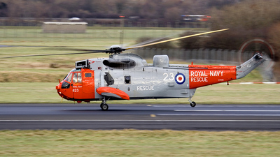 XV699 - Westland Sea King HAS.5U - United Kingdom - Royal Navy