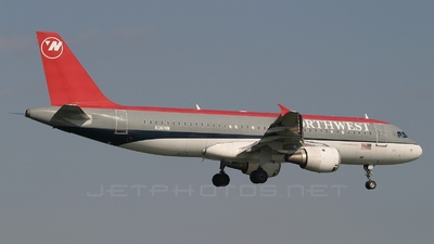 N361NW - Airbus A320-212 - Northwest Airlines