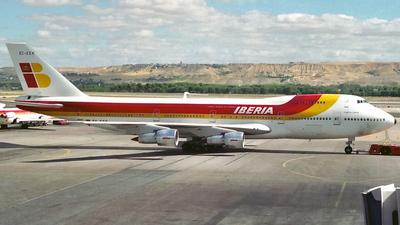 EC-EEK - Boeing 747-256B(M) - Iberia