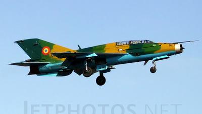 061 - Mikoyan-Gurevich MiG-21UM Lancer B - Romania - Air Force