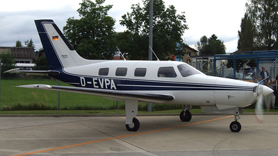 D-EVPA - Piper PA-46-350P Malibu Mirage - Private