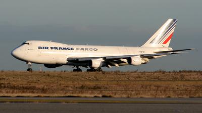 F-BPVZ - Boeing 747-228F(SCD) - Air France Cargo