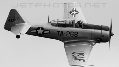 LN-TEX - North American T-6 Harvard - Private