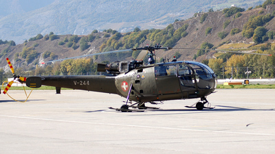 V-244 - Aérospatiale SA 316B Alouette III - Switzerland - Air Force