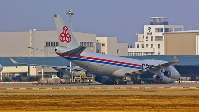 LX-TCV - Boeing 747-4R7F(SCD) - Cargolux Airlines International