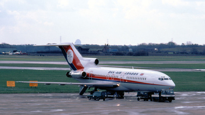 G-BAEF - Boeing 727-46 - Dan-Air London