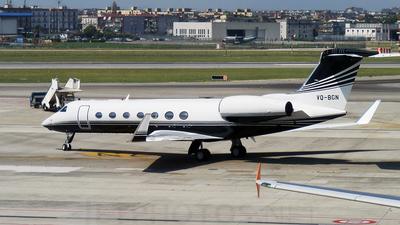 VQ-BGN - Gulfstream G550 - Private