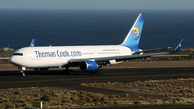 G-DAJC - Boeing 767-31K(ER) - Thomas Cook Airlines