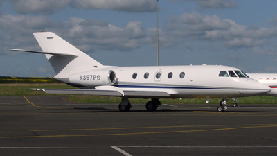 N357PS - Dassault Falcon 20F - Private