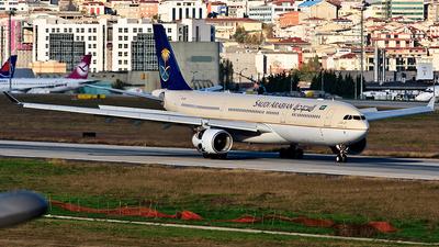 HZ-AQD - Airbus A330-343 - Saudi Arabian Airlines