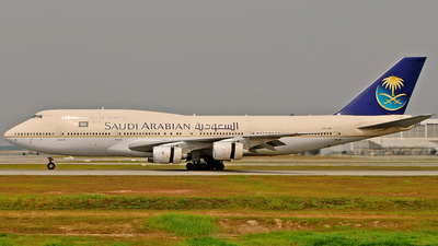 HZ-AIM - Boeing 747-368 - Saudi Arabian Airlines