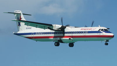 N348AE - ATR 72-212 - American Eagle (Executive Airlines)