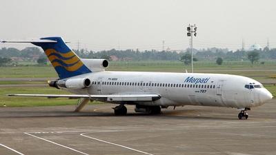 PK-MBW - Boeing 727-232(Adv) - Merpati Nusantara Airlines