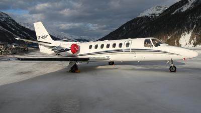 A picture of SERGY - Cessna 560 Citation Ultra - [5600414] - © Lutz Lehmann