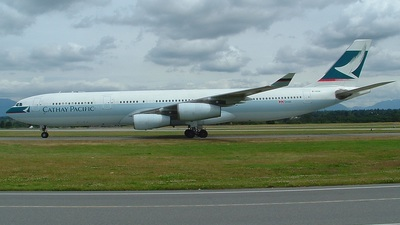 B-HXN - Airbus A340-313X - Cathay Pacific Airways