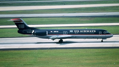 N867US - Fokker 100 - US Airways