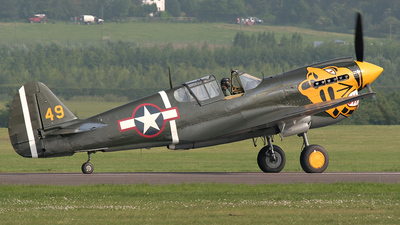 G-KITT - Curtiss P-40M Kittyhawk - Private