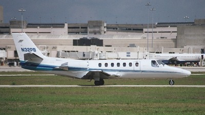 N32PB - Cessna 550 Citation II - Private