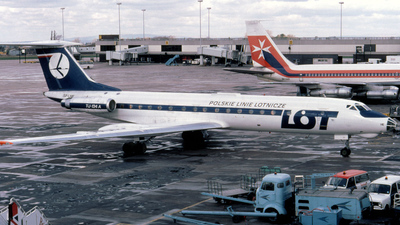 SP-LHE - Tupolev Tu-134A - LOT Polish Airlines