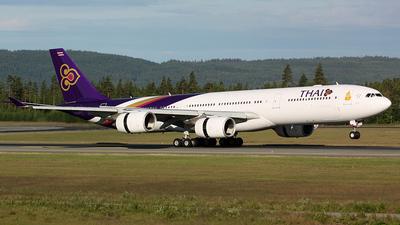 HS-TLA - Airbus A340-541 - Thai Airways International