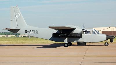 G-SELX - Britten-Norman BN-2T Islander - Private
