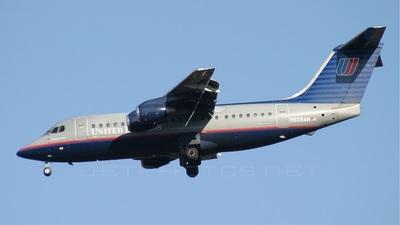 N608AW - British Aerospace BAe 146-200A - United Express (Air Wisconsin)
