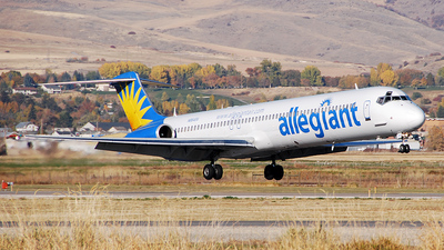 N864GA - McDonnell Douglas MD-83 - Allegiant Air