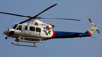 JA821F - Bell 412EP - Japan - Fukushima Prefecture
