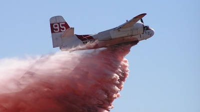 N447DF - Grumman S-2F-1 Tracker - United States - California Department of Forestry