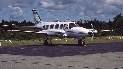 A picture of CGPXW - Piper PA31350 - Strait Air - © Pierre Langlois