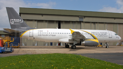 G-MIDR - Airbus A320-232 - Nesma Airlines