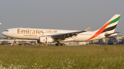 A6-EAA - Airbus A330-243 - Emirates
