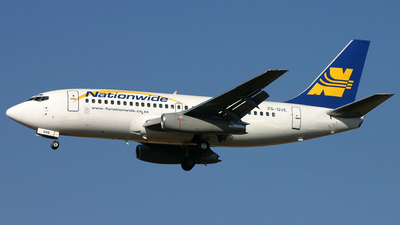 ZS-OVE - Boeing 737-228(Adv) - Nationwide Airlines