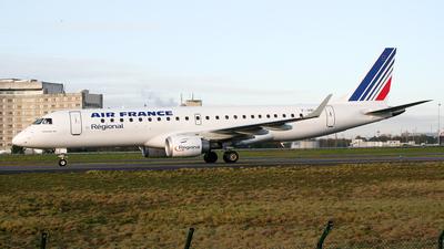 F-HBLC - Embraer 190-100LR - Air France (Régional Compagnie Aerienne)