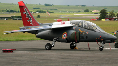 E69 - Dassault-Breguet-Dornier Alpha Jet E - France - Air Force