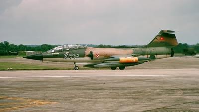 5704 - Lockheed TF-104G Starfighter - Turkey - Air Force