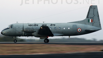 H1516 - Hindustan Aeronautics HAL-748 - India - Air Force