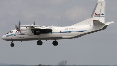 HA-TCS - Antonov An-26B - CityLine Europe