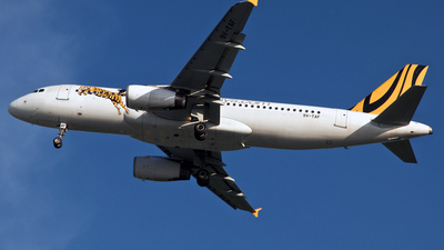 9V-TAF - Airbus A320-232 - Tiger Airways