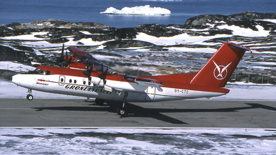 OY-CTC - De Havilland Canada DHC-7-102 Dash 7 - Greenlandair