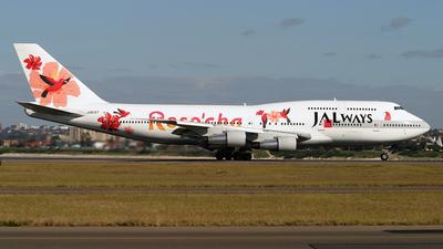 JA8187 - Boeing 747-346 - JALways