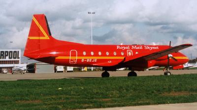 G-BEJE - Hawker Siddeley HS-748 - Emerald Airways