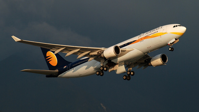 VT-JWN - Airbus A330-202 - Jet Airways