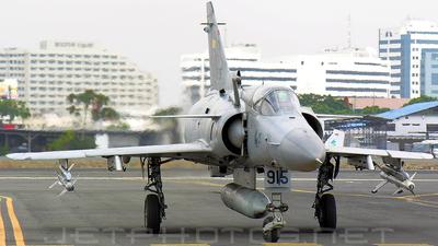 FAE915 - IAI Kfir CE - Ecuador - Air Force