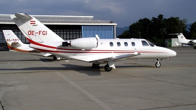 OE-FGI - Cessna 525 CitationJet 1 - ABC Bedarfsflug