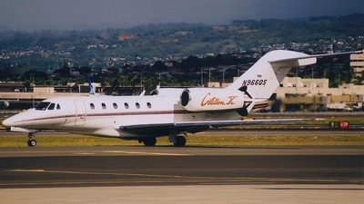 N966QS - Cessna 750 Citation X - Private