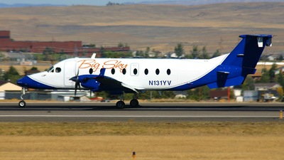N131YV - Beech 1900D - Big Sky Airlines