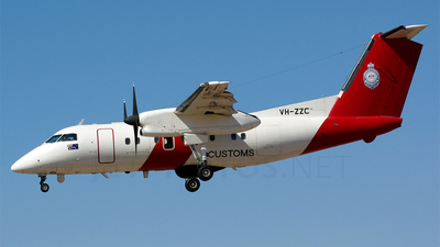 VH-ZZC - Bombardier Dash 8-Q202 - Australia - Customs